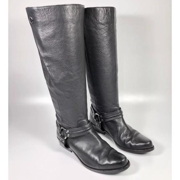 2f030d34b56 Franco Sarto Shoes - Franco Sarto Larriat Leather Harness Boot